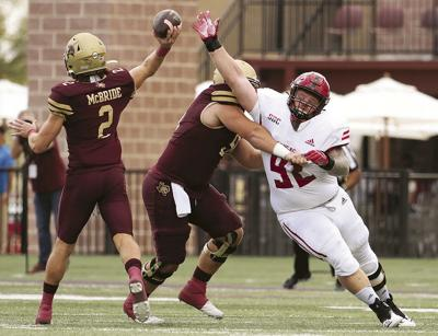 Late TD sends Bobcats past Red Wolves