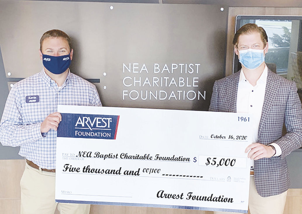 Arvest Foundation donates to area hospitals
