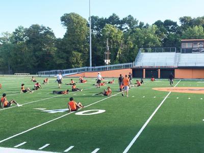 Greyhounds begin pre-season practice