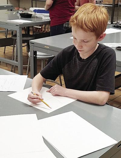 Nettleton STEAM students officially illustrators