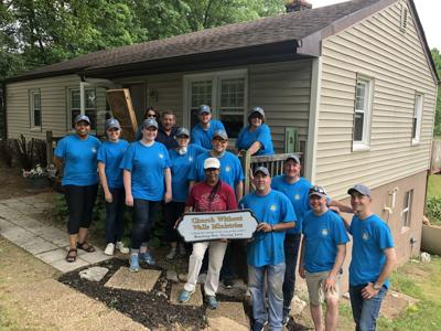 LGI Homes teams up with Church Without Walls Ministries to revamp outreach building