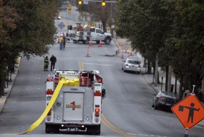 MFD gas leak