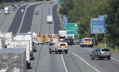 I-81 accident slows traffic