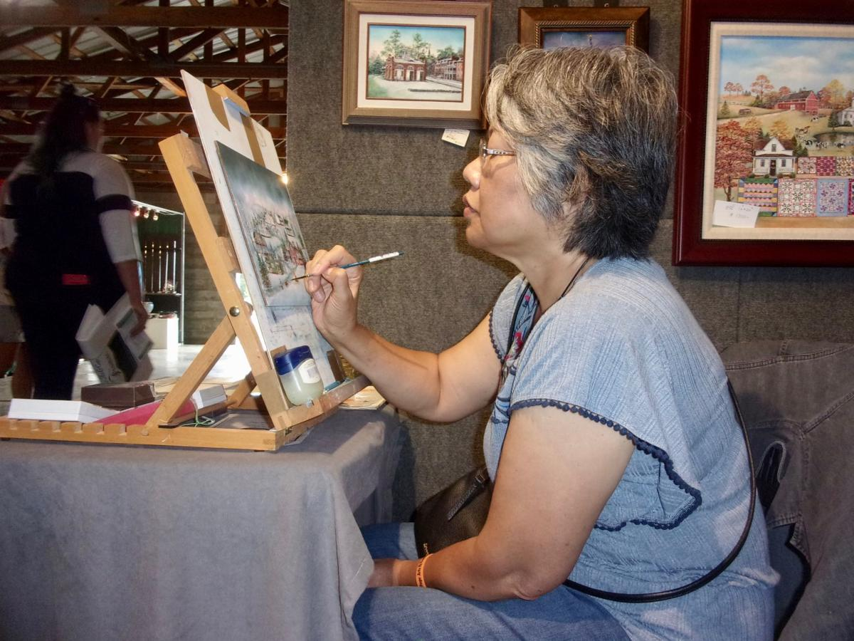 44th Annual Mountain Heritage Arts and Crafts Festival draws thousands to fairgrounds