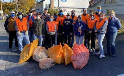 Rotary clean up
