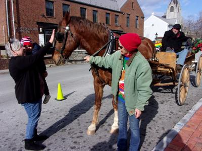 History in motion: Couple provides tours with horse-drawn carriage