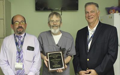 WVU Medicine names Quality Service Award winner March 2018
