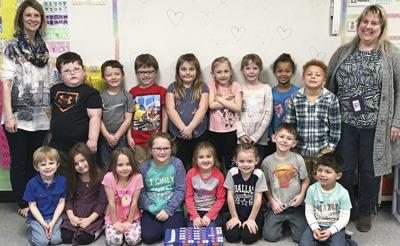 Inwood Primary School collects over 1500 items in food drive