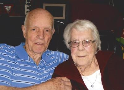Shirley and Don Kinley celebrate 70th  wedding anniversary