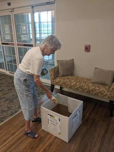 Harmony partners with Meals on Wheels to bring food to the elderly