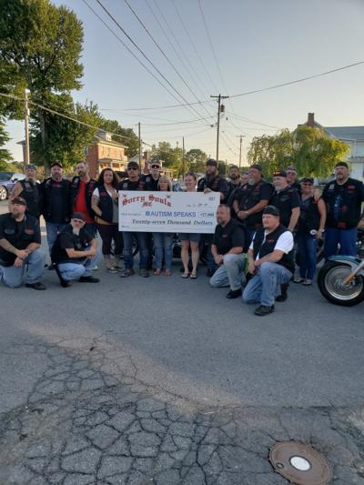 Motocycle Club hopes to break stigma after raising $27,000 for Autism Speaks organization