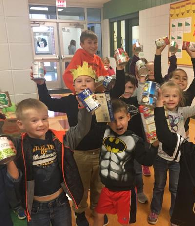 Act of kindness: Students at Driswood Elementary share the holiday spirit
