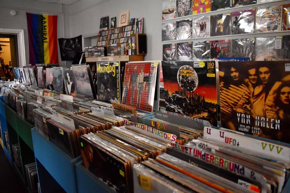 record setup with wall