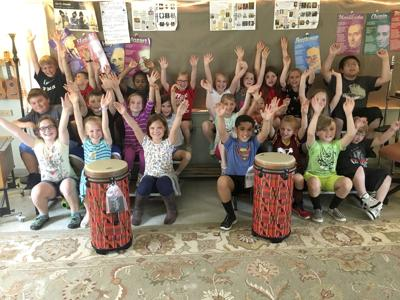 Friends of Music gives Grants to two Elementary Schools