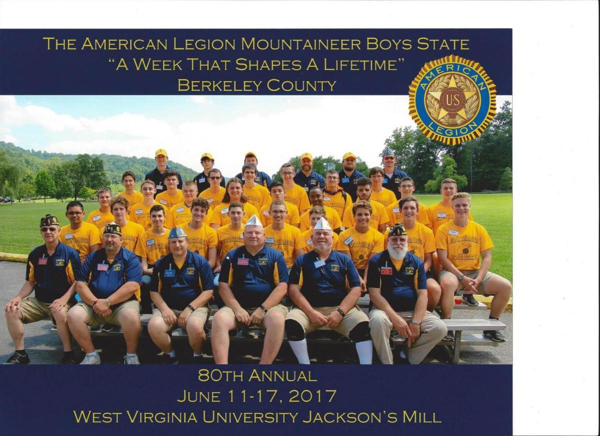 American Legion Mountaineer Boys State '17 class graduates