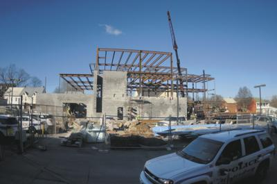 Police Station construction