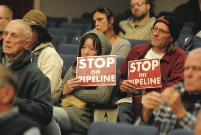 Met with resistance: Residents speak out against proposed gas pipeline