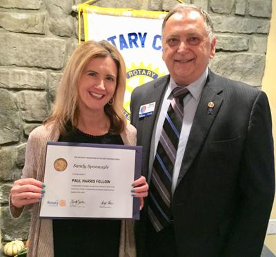 Shepherdstown Rotary Club honors member