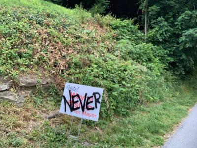 Harpers Ferry Mayor, opponent urge calm after election sign vandalized