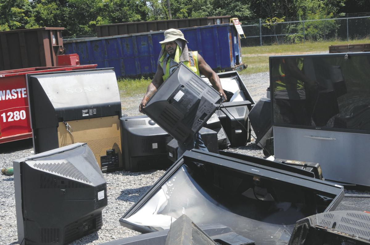Reduce, reuse: Electronics, paper waste pile up in Berkeley County