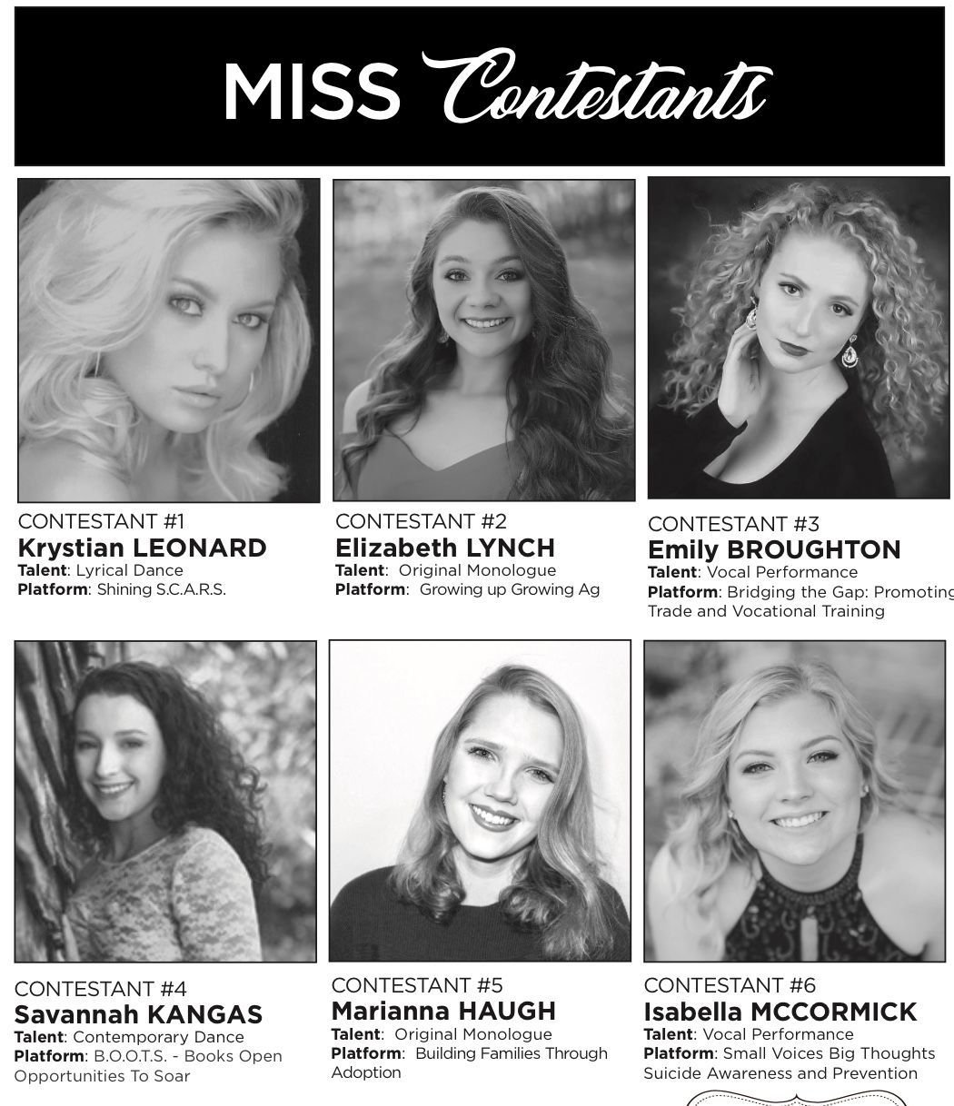 Miss Berkeley County, Outstanding Teen contestants hope for Miss WV