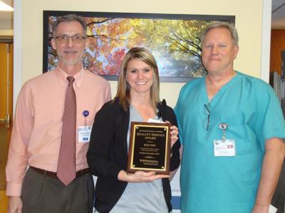 Jefferson Medical Center names quality service award recipient