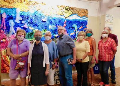 Art group from Jefferson County visit Mac Ice House