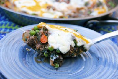 Lighten up Shepherd's Pie with beef and cauliflower