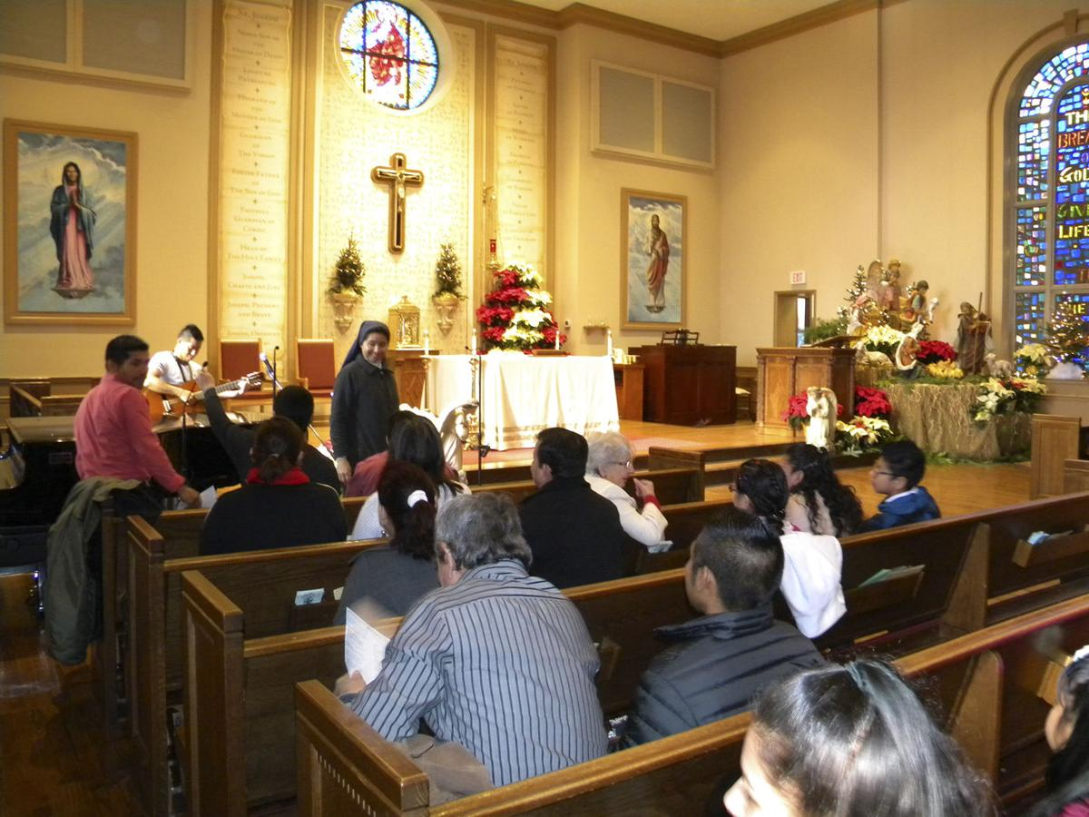 A Christmas Gift: St. Joseph Church celebrates the holiday ...