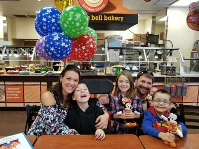 Make-A-Wish grants 8-year-old a trip to Disney World