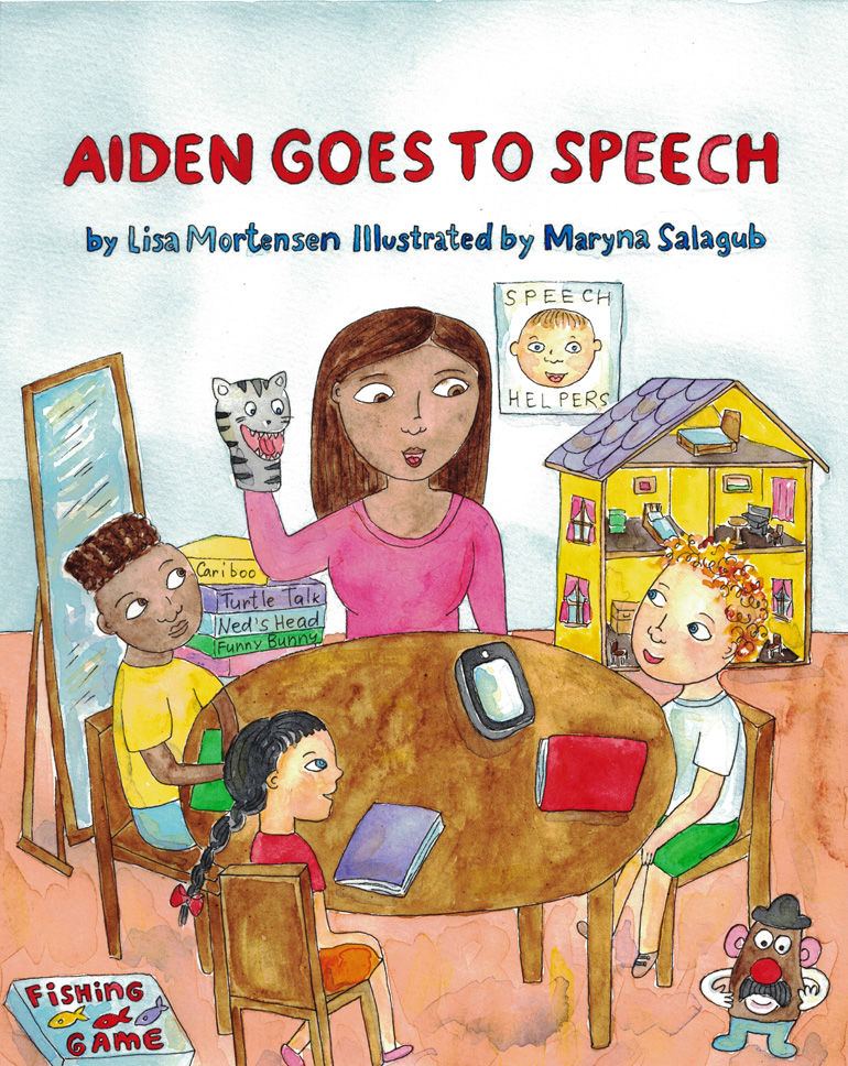 Local author's first book explores challenges of speech difficulties