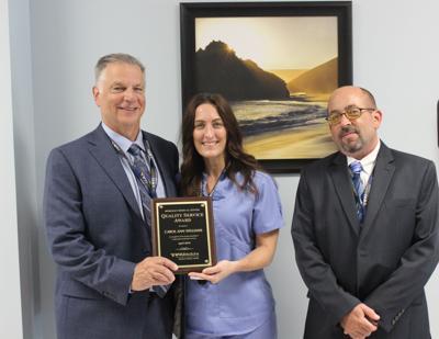 Quality Service Award recipient announced