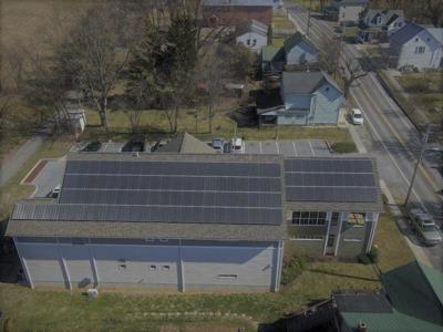Library solar panels