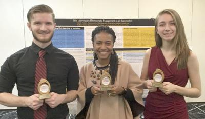 SU students present research at international conference