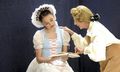 'Coppelia' the doll comes alive at the  Inwood Dance Company
