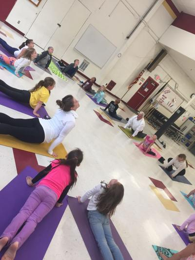 Yoga teacher gives kids 'tools to be brave'