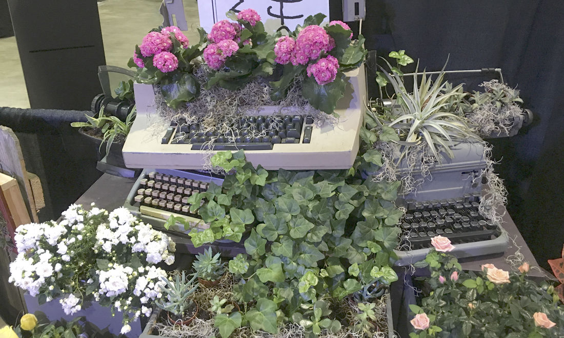 Repurpose antiques for the garden