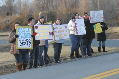 PEIA protests: County teachers rally for support on pay, insurance