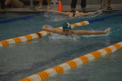 Staying undefeated: Jefferson boys, girls swim teams win quadranglar meet