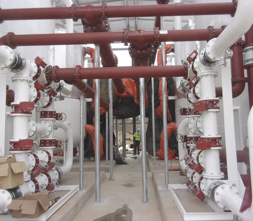 Big Springs Filtration Plant back to capacity