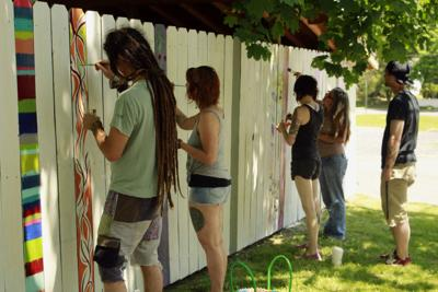 222 Fence Project brings color to community