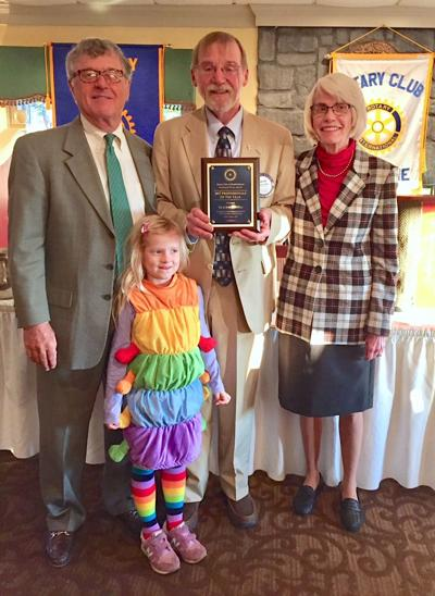 Shepherdstown Rotary Club honors Bob and Tia McMillan