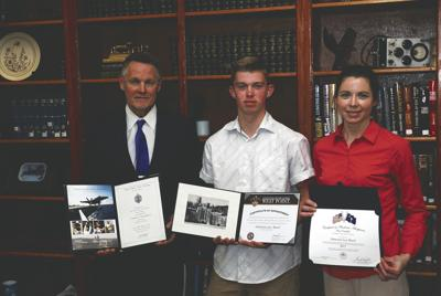 Hedgesville student accepted into top three military schools