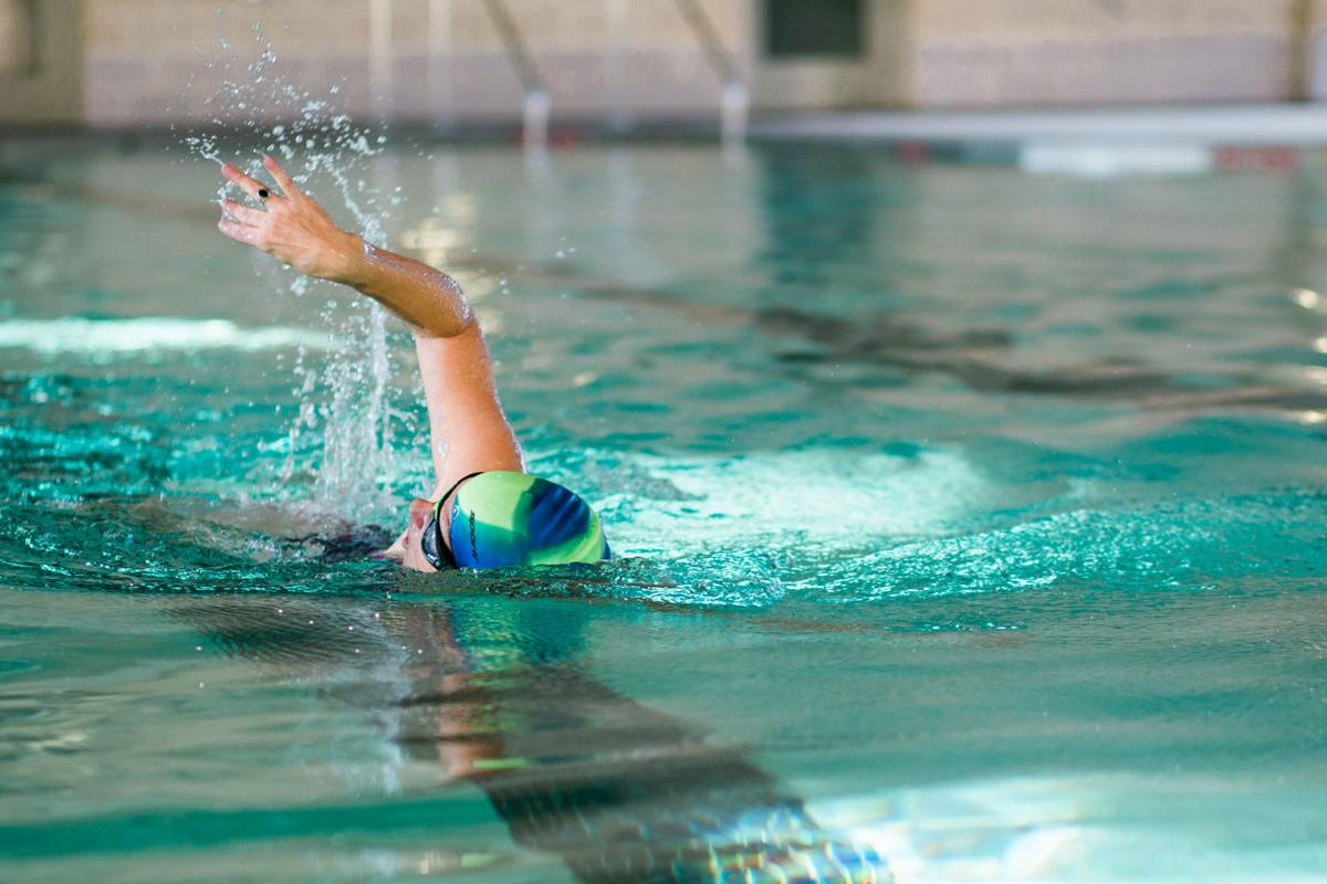 mennohaven person swimming