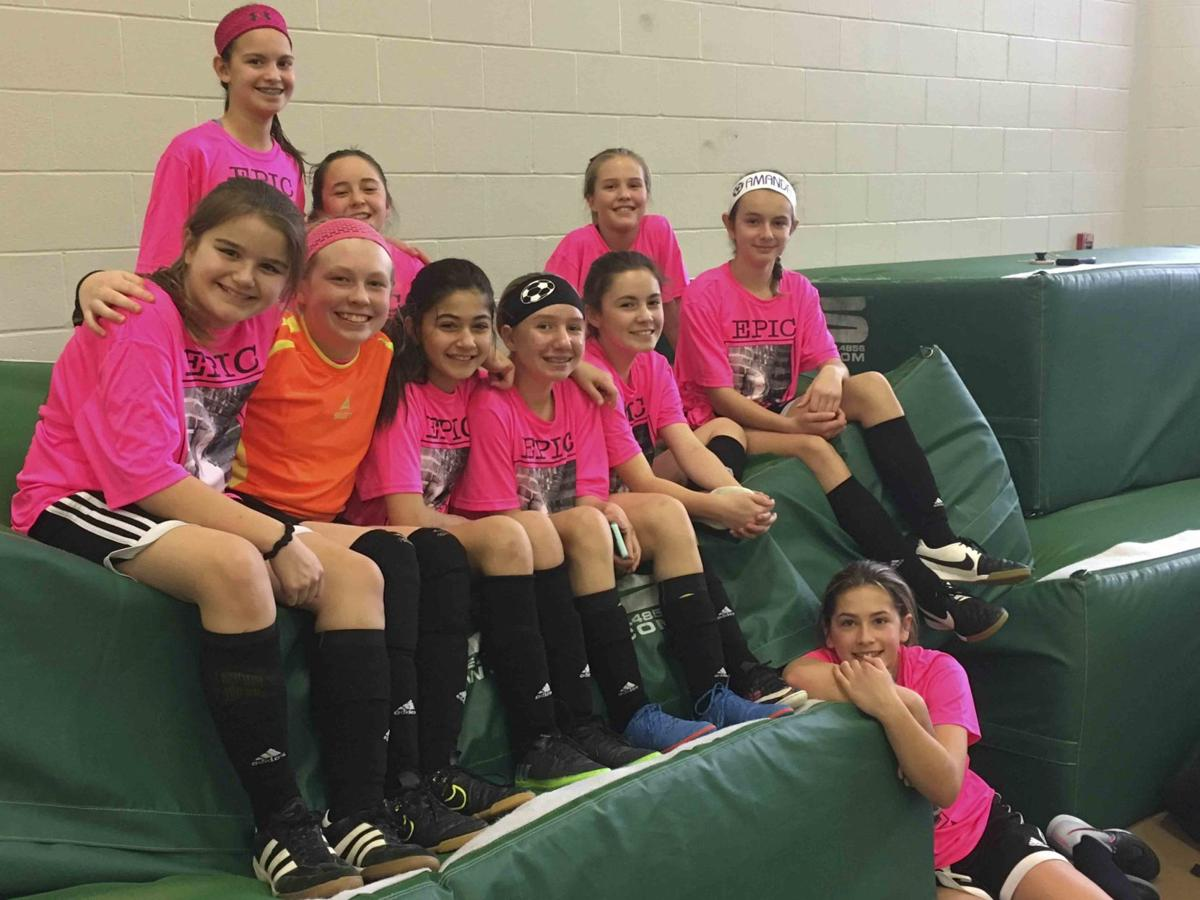 Girls soccer club team honors Rader during tourney