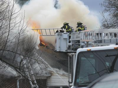 Crews respond to fire