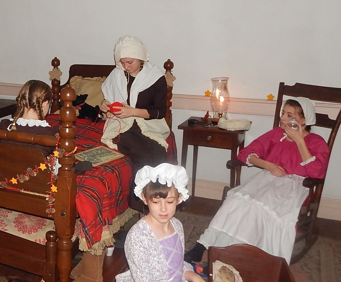 Go back in time to Christmas 1787