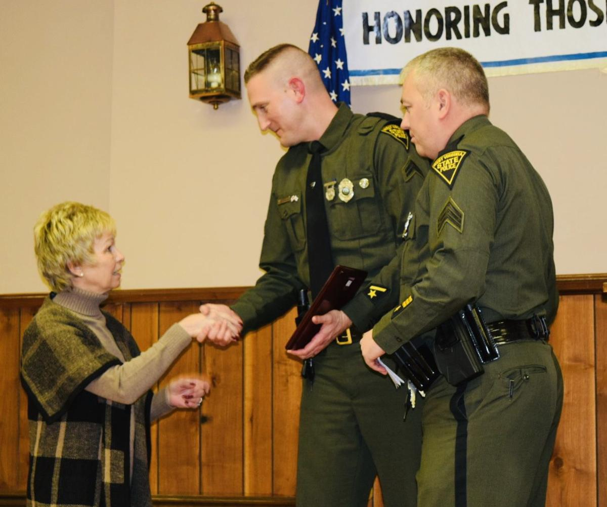 Several officers and public safety officials honored during