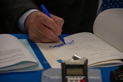 Gov. Justice signs, vetoes legislation by deadline
