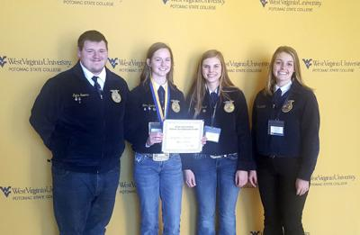 Jefferson FFA Students take top Horse Judging Honors
